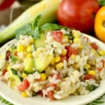 A SIMPLE SUMMER SELECTION | Summer Veggie Risotto