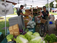 Riding Your Bike to the Farmers' Market
