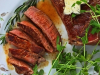 Dreaming of Summer with Winter-Time Steaks
