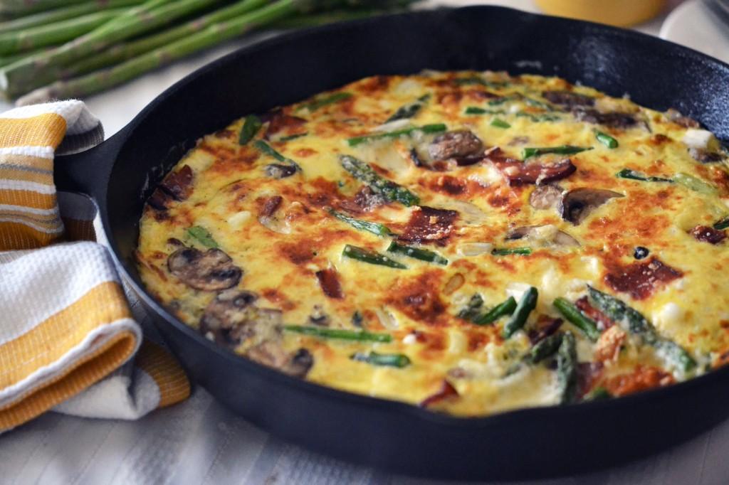 фриттата рецепт с фото на сковороде