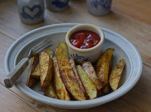Sheldon Farm roasted potatoes