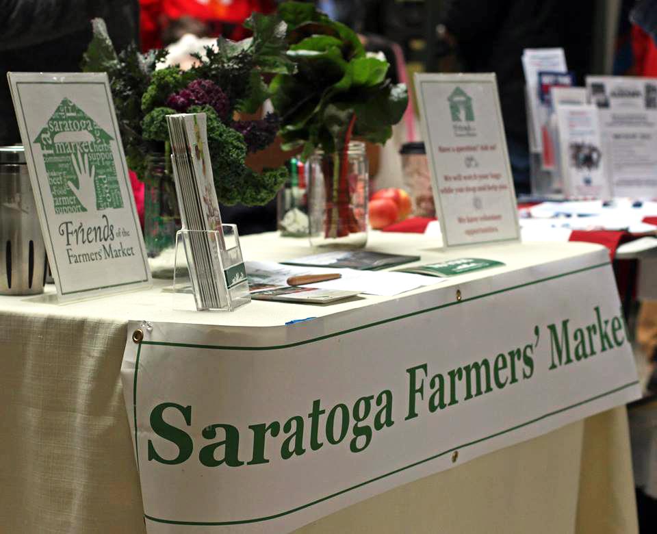 Friend-ing the Saratoga Farmers' Market
