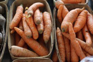 Carrots, Pleasant Valley Farm Photo by Pattie Garrett