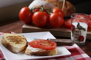 Tomato Sandwich Photo by Pattie Garrett