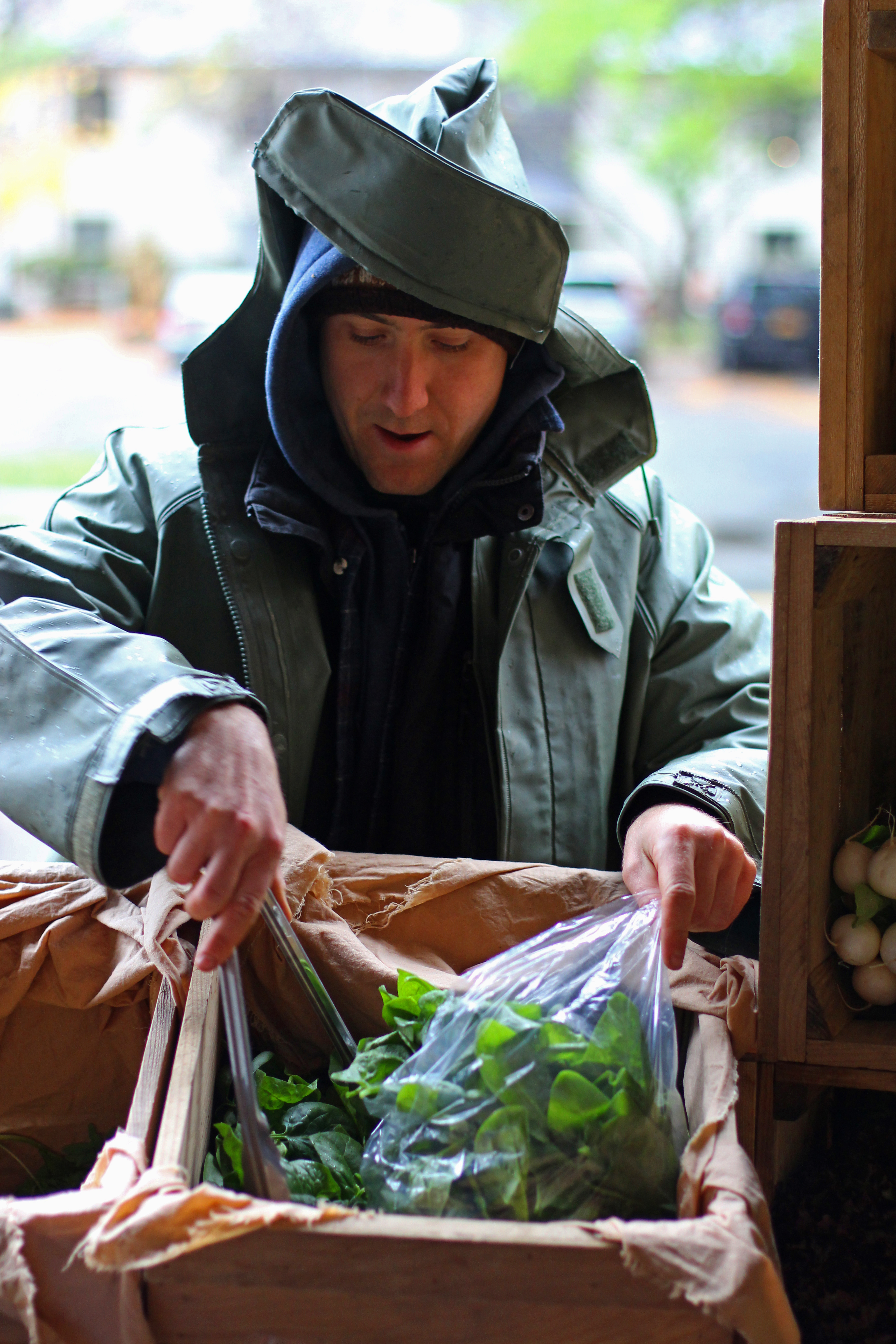 Saratoga Farmers Embrace 'Rain or Shine'