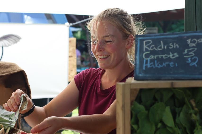 Saratoga Farmers' Market Keeps It Local