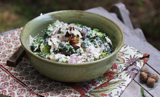 Farmers' Market Broccoli Salad