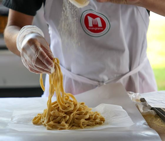 Pasta Made Fresh and Cut On the Spot