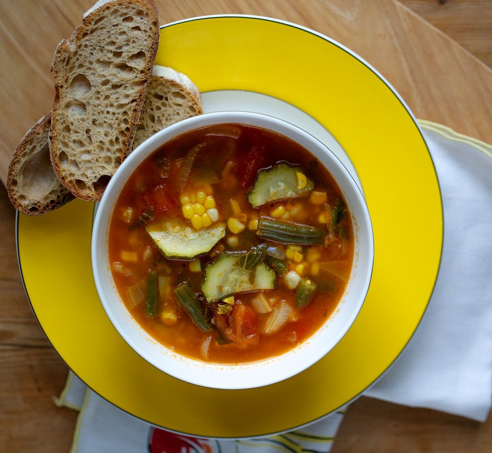 Summer Harvest Vegetable Soup
