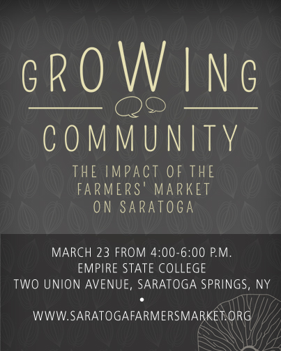 March 23: Growing Community