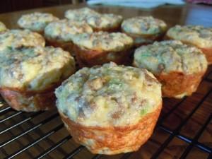 Sausage Veggie Egg-Muffins