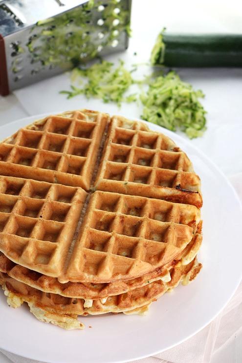 zucchini waffle_2
