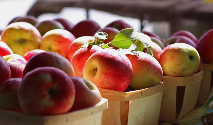 Saratoga Farmers' Market Apples