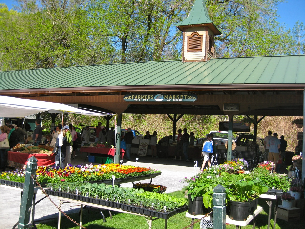 Opening Day Saratoga Farmers' Market