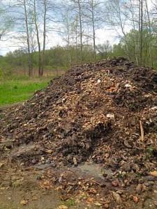 Composting at Denison Farm