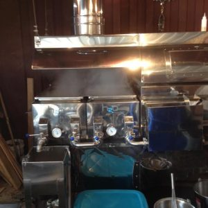 Slate Valley Maple syrup Evaporator