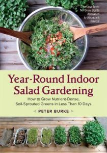 Year-Round Indoor Salad Gardening book cover
