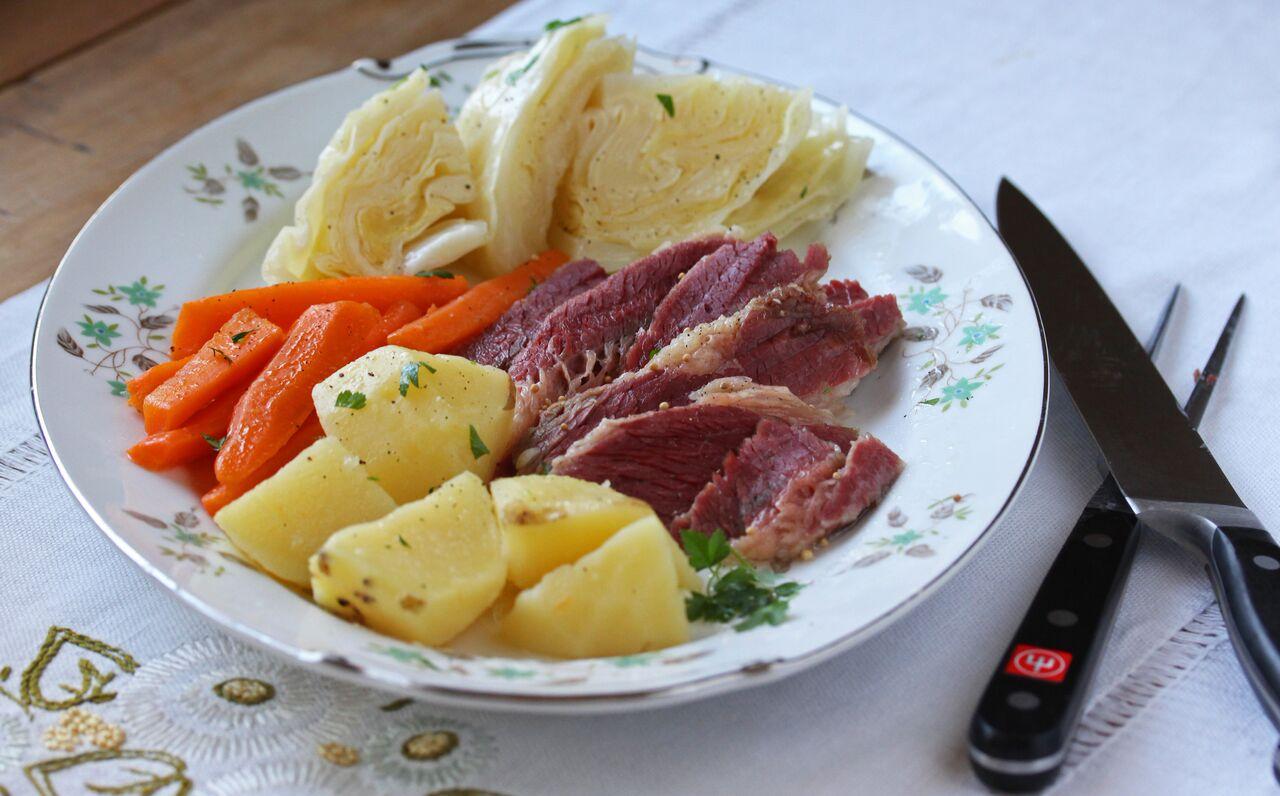 Corned Beef with Vegetables Photo by Pattie Garrett
