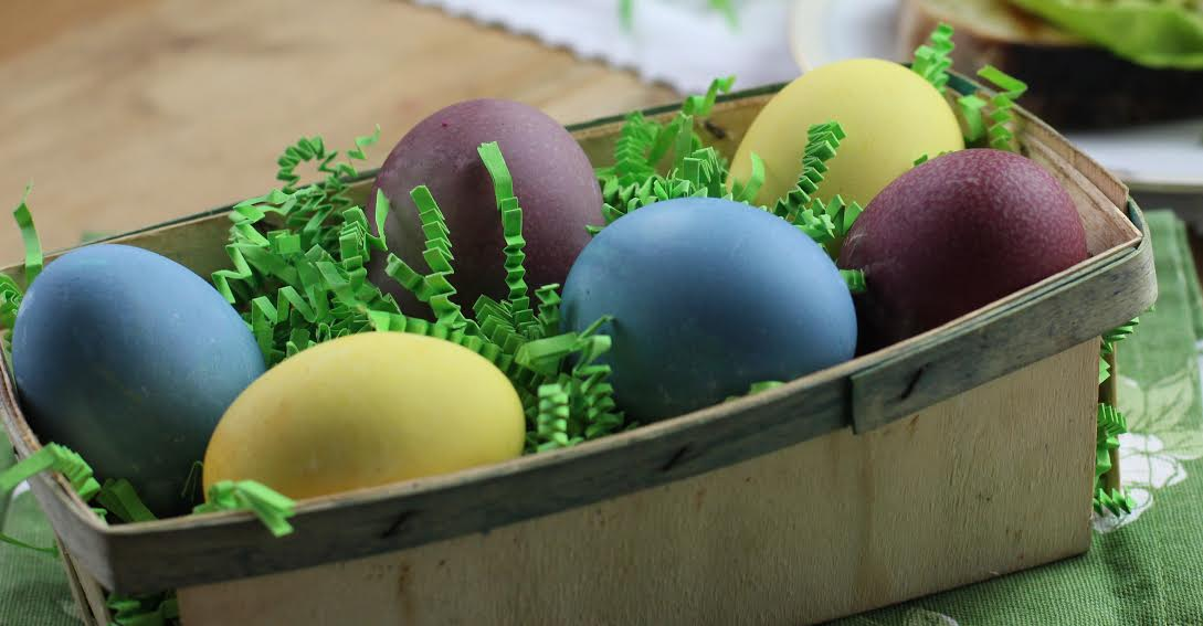 Natural Dye Easter Eggs Photo by Pattie Garrett