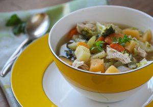 CSA Soup by Pattie Garrett