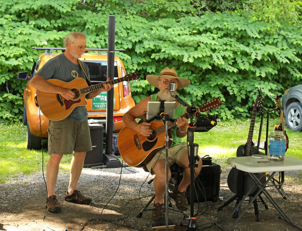 Musicians Create the Beat at the Farmers' Market