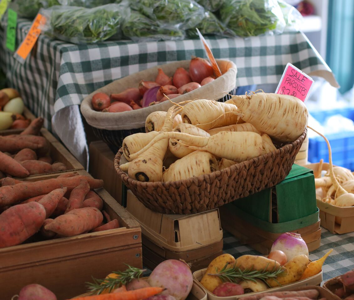 Learning to Cook, Farmers' Market Style