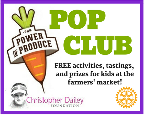Saratoga Farmers' Market Helps Children Learn the 'Power of Produce'