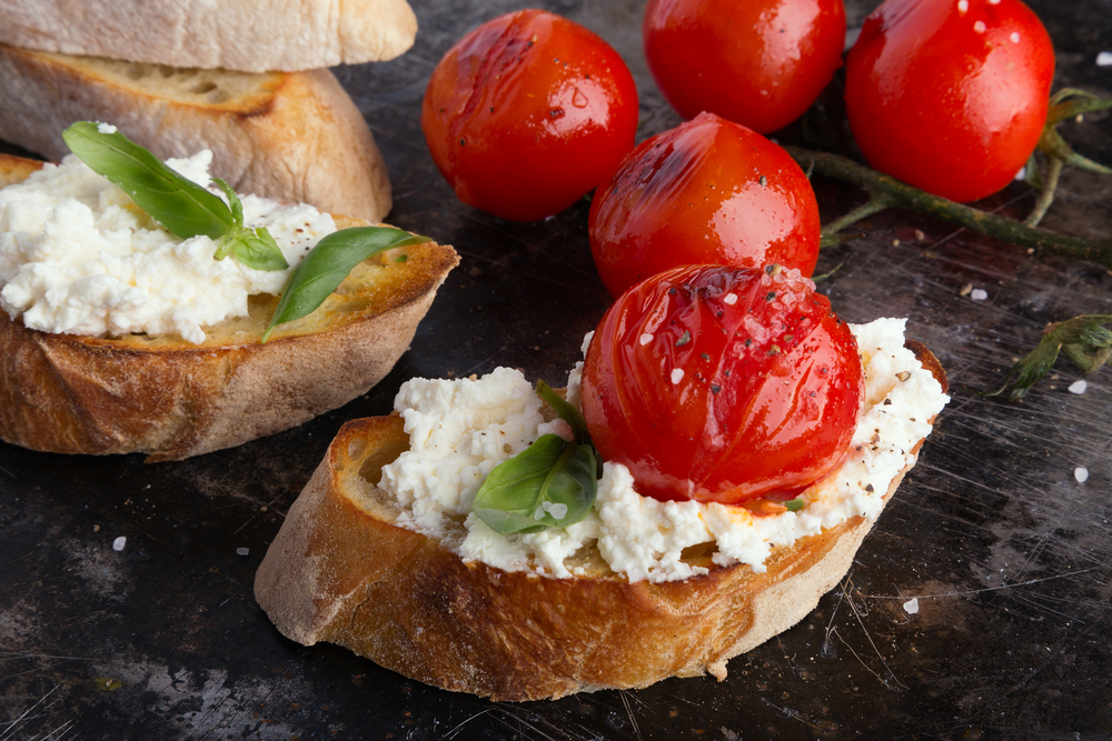 Baked Goat Cheese Spread