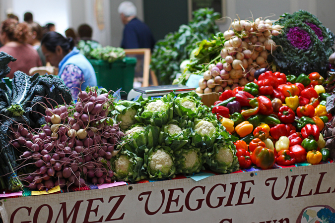 55f4454c7c9d6d Saratoga Farmers  Market indoors at the Lincoln Baths. Photo courtesy of  Pattie Garrett