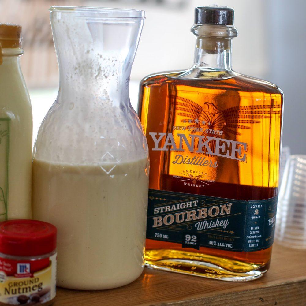 Bourbon Eggnog