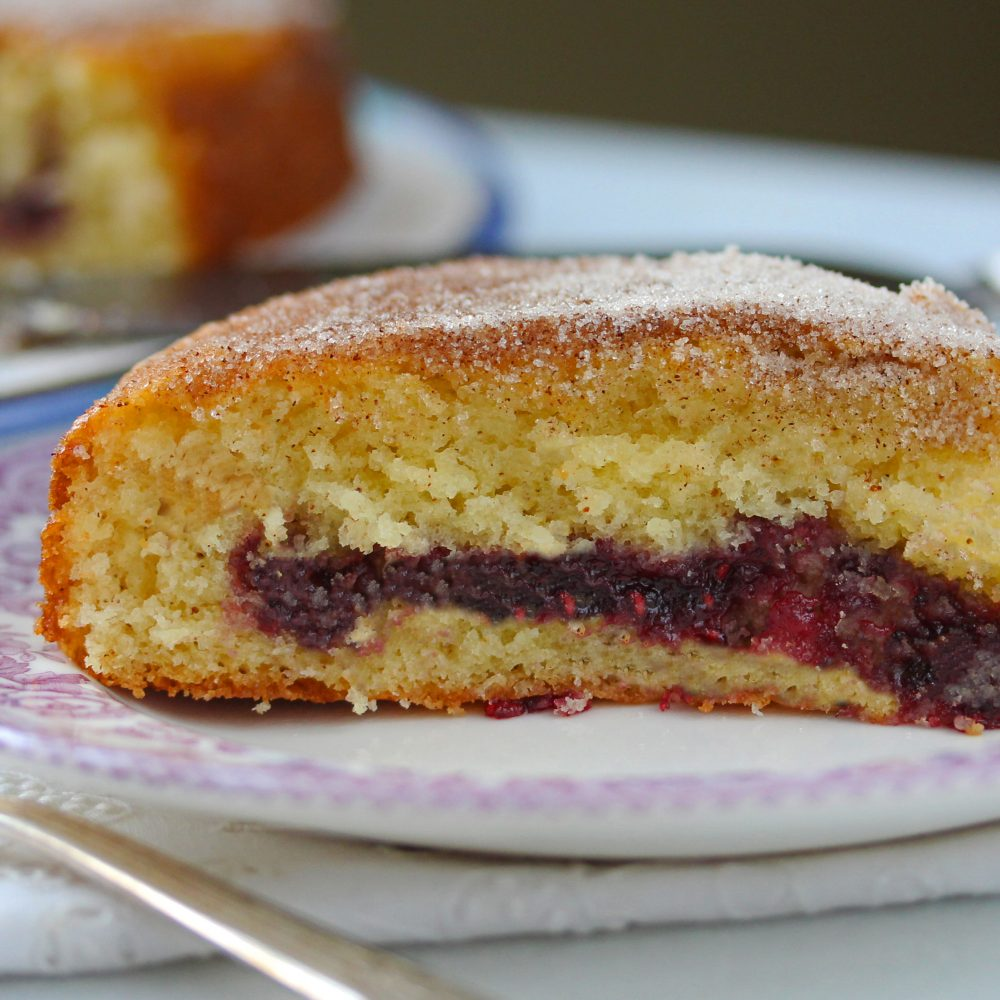 Jelly Donut Cake