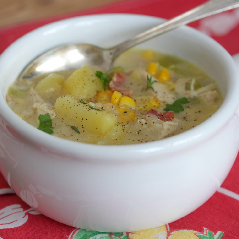 Chicken and Corn Chowder