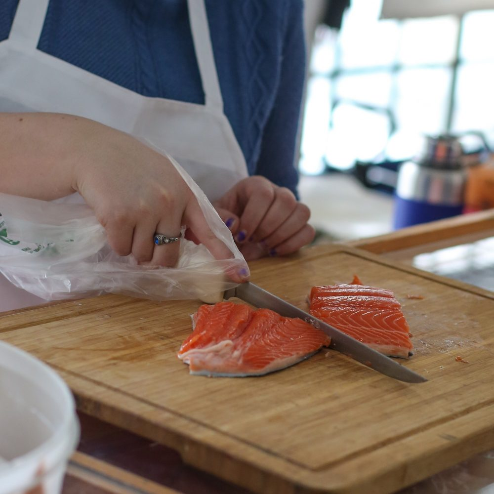 Fruits of the Sea: Fresh fish at the Saratoga Farmers' Market