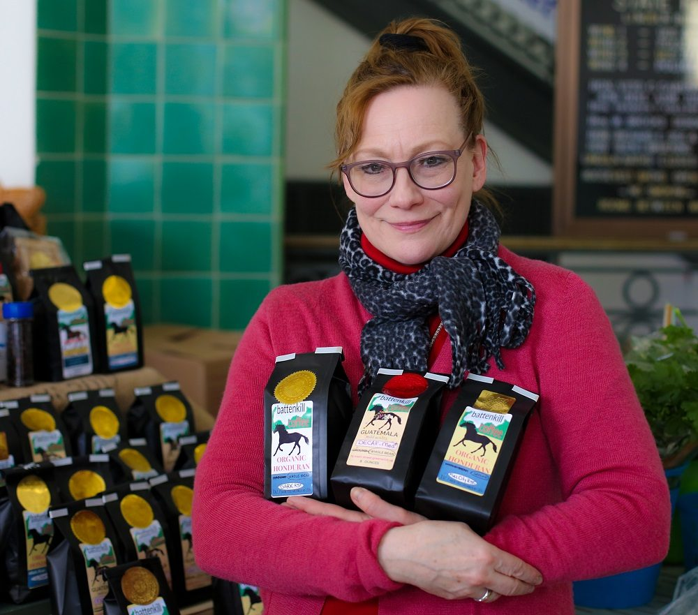 'Coffee Lady' Wakes Up Saturday Farmers' Market with Her Special Brews