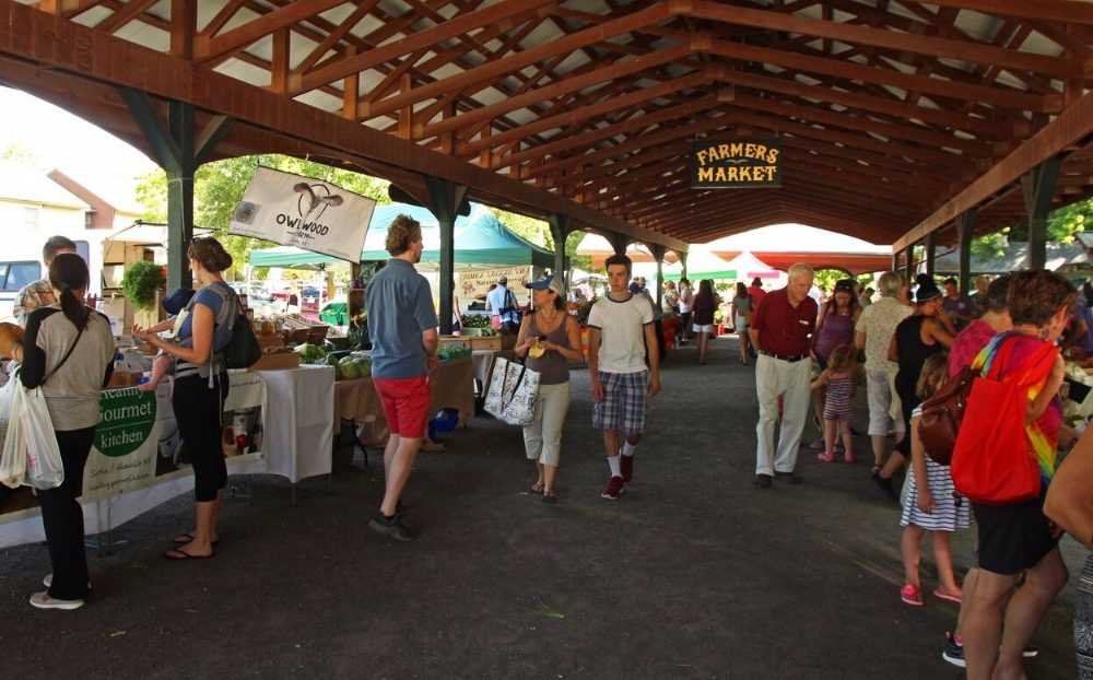 Wednesdays at the Saratoga Farmers' Market